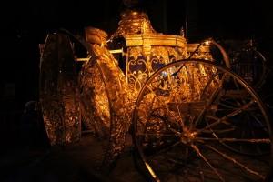 Goldene Kutsche aus Cinderella Ausstellung Berlin 2015