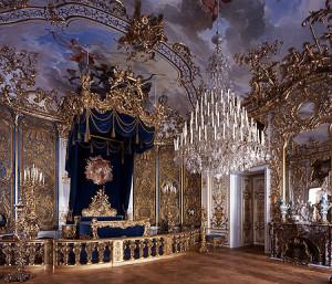 Schloss Linderhof, Schlafzimmer, Ettal